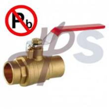 Lead Free brass Solder Ball Valve